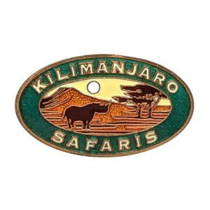 Animal Kingdom Disney Pin: Kilimanjaro Safaris